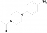 1-[4-(4-Aminophenyl)piperazin-1-yl]ethanone, 97%, CAS: 92394-00-8